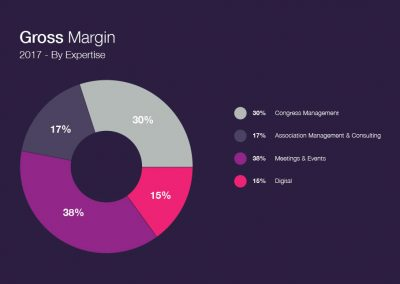 Gross Margin 2017 - By Expertise